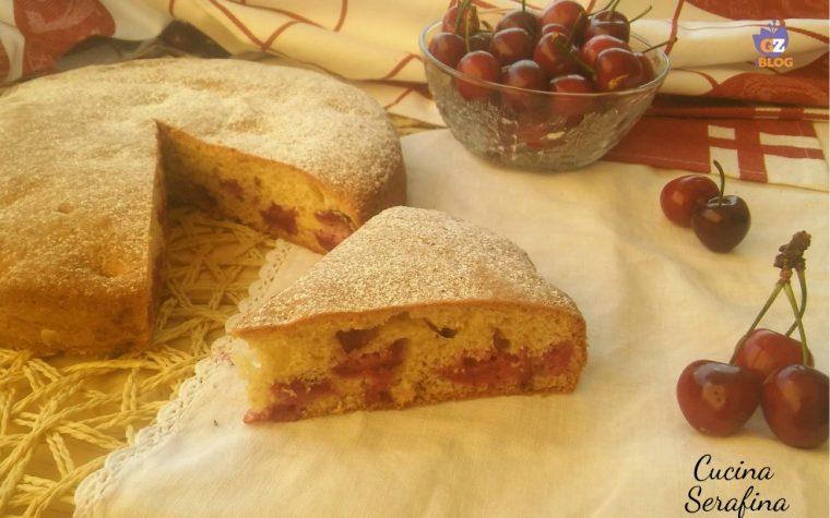 Torta ciliegie e cannella