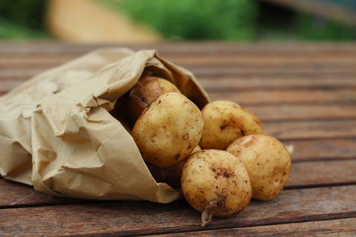 Perchè le patate diventano verdi