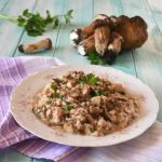 Ricetta risotto ai funghi e carne macinata