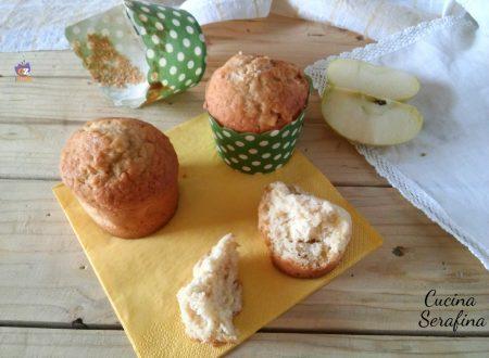 Muffin mele e cocco