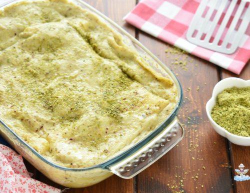 Lasagne al pistacchio e prosciutto