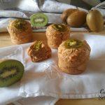 Muffin ai kiwi con farina integrale