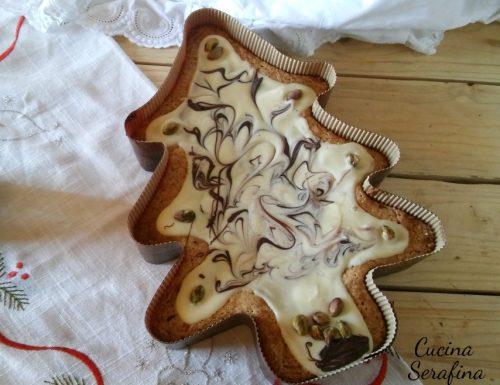 Albero di Natale al pistacchio