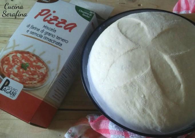 impasto base per pizza