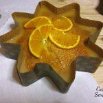 Torta all'arancia con glassa