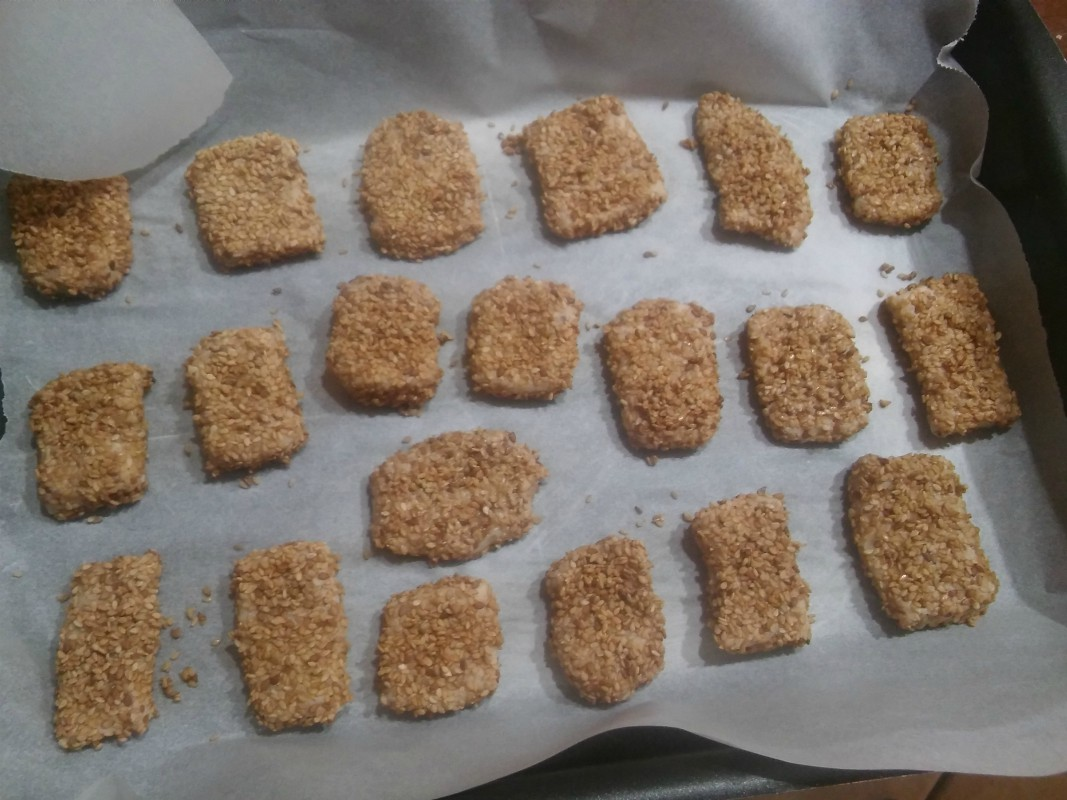 biscotti ca ciciulena o sesamo