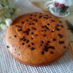 Torta alla zucca con farina di Kamut e cioccolato