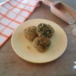Polpette di orzo e spinaci