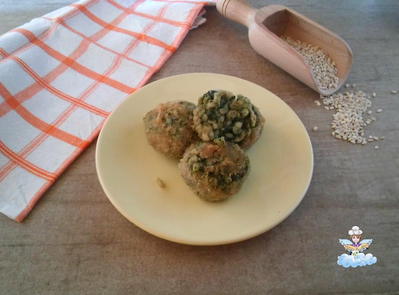 Polpette Di Orzo E Spinaci Cucina Serafina