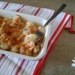 Gnocchi gratinati al forno con prosciutto e besciamella