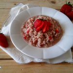 Risotto alle fragole light