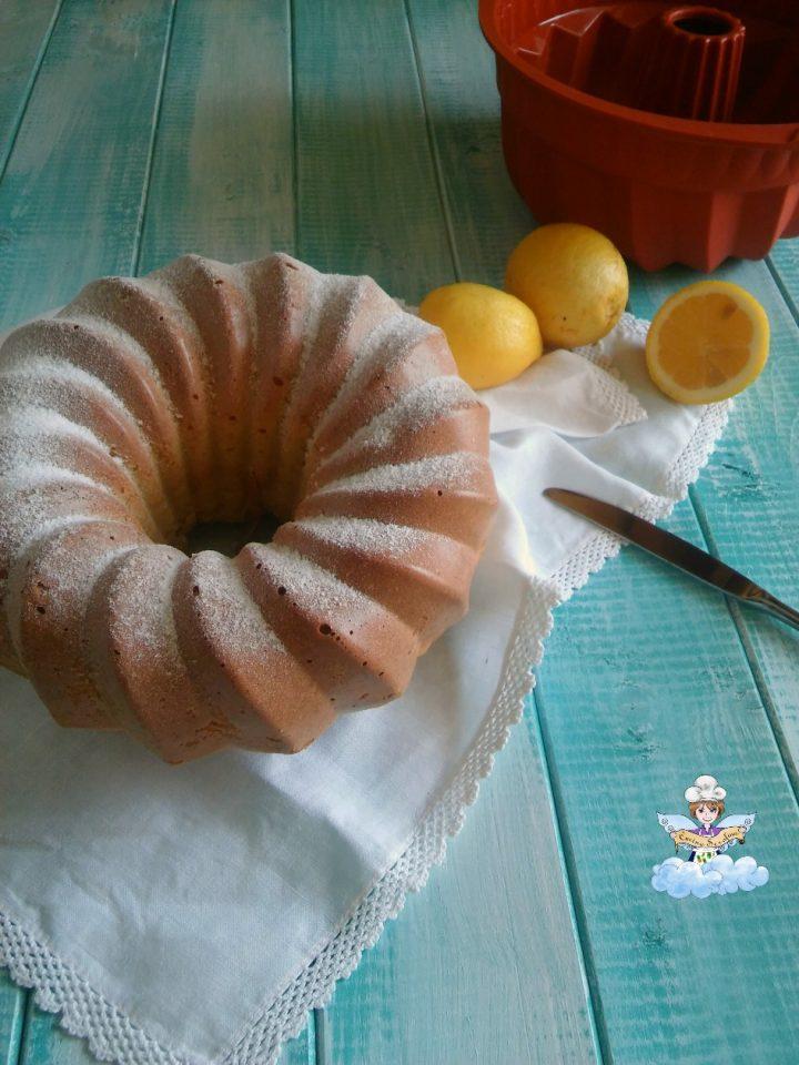 ciambellone al limone senza lievito