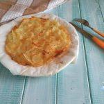 Tortino di patate con provola