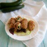 Involtini zucchine e philadelphia