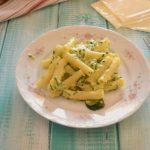 Pasta zucchine e sottilette