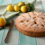 Torta alle prugne gialle dell'Etna