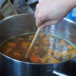 Congelare il brodo vegetale