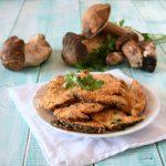Cotolette di funghi porcini