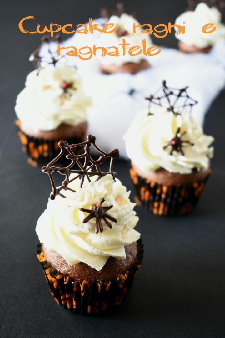 Cupcake ragni e ragnatele