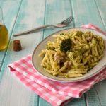 Trofie con broccoli e salsiccia
