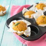 Muffin salati con zucca e parmigiano