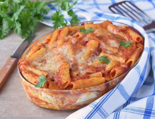 Pasta al forno con ragù-ricetta classica