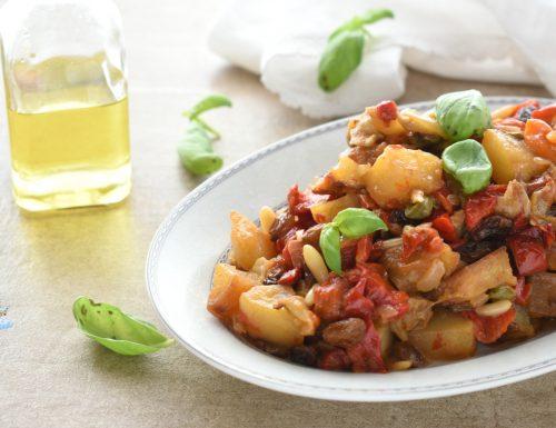 Ricetta originale della caponatina siciliana