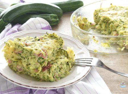 Gateau di zucchine