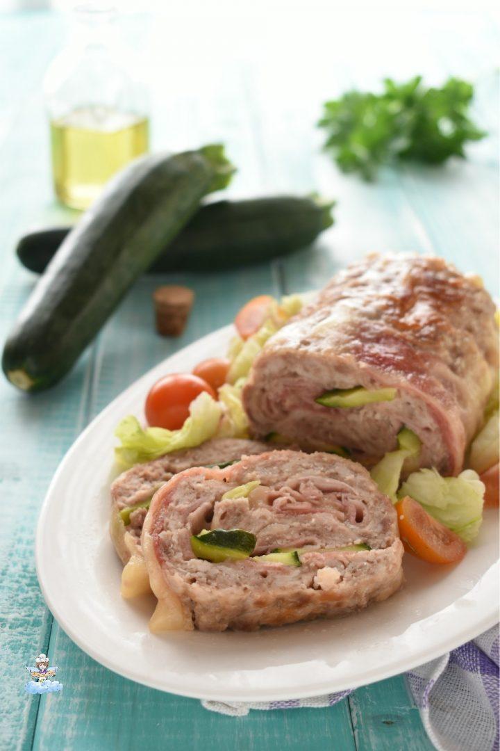 Rollè di pollo e zucchine