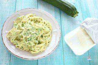Pasta zucchine e philadelphia