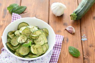 Zucchine trifolate - ricetta light