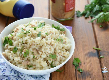 Insalata di riso tonnata