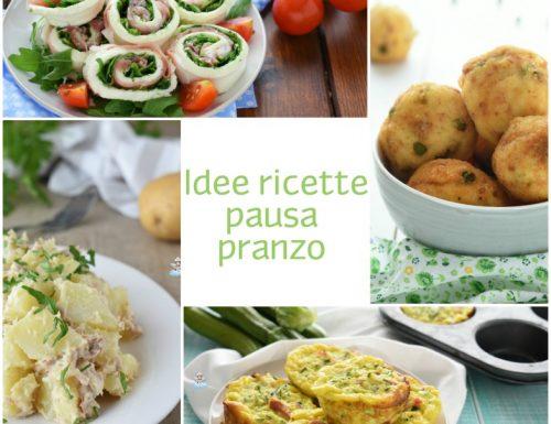 Idee ricette pausa pranzo