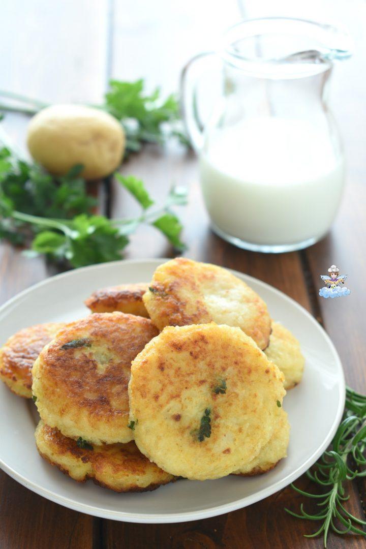Polpette di patate senza uova