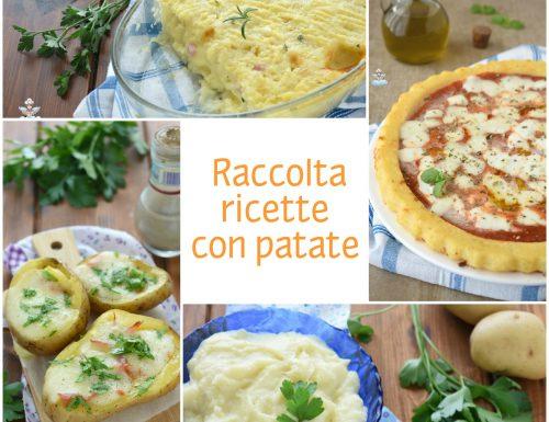 Raccolta ricette con patate
