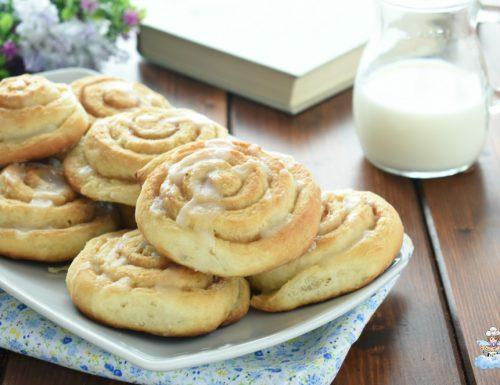 Girelle alla cannella o cinnamon rolls