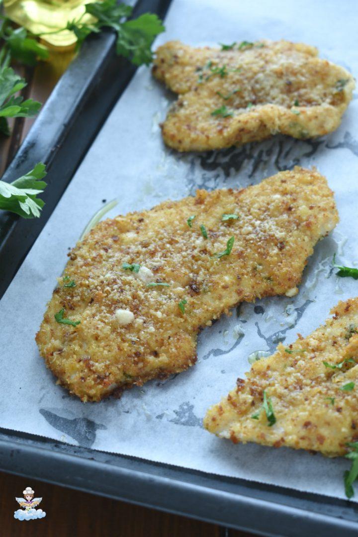 Cotolette di pollo al forno morbide e gustose
