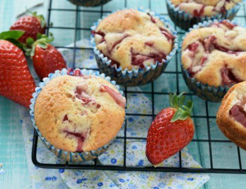 Muffin sofficissimi alle fragole