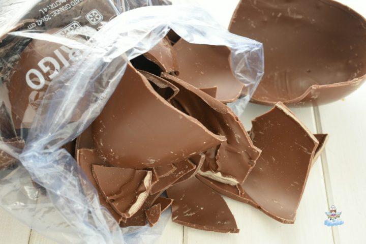 Congelare il cioccolato