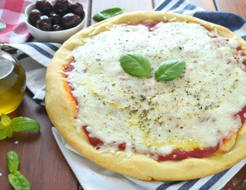 Pizza fatta in casa metodo semplicissimo