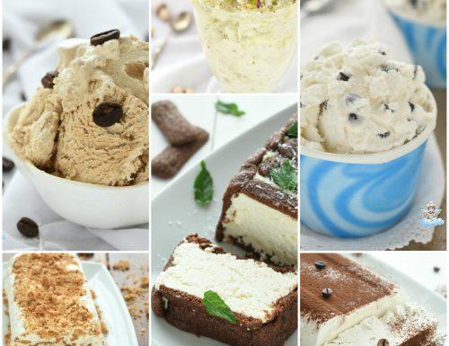 Idee ricette per gelati veloci e semifreddi