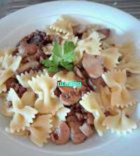 pasta con ragù bianco