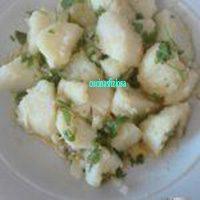 patate in verde. Un' antipasto veloce e ideale per l'estate
