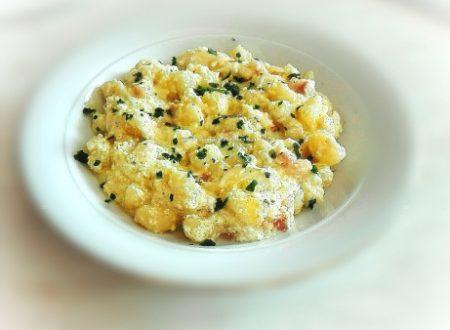 Gnocchi di patate cremosi