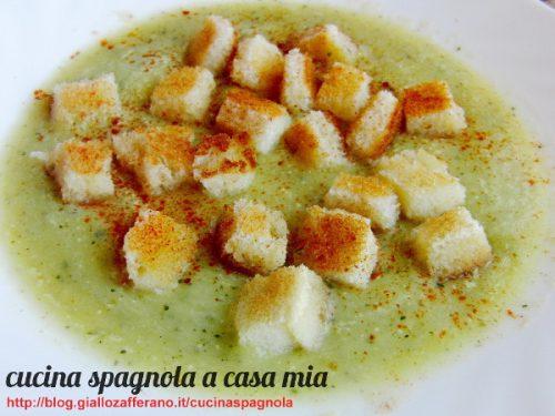 VELLUTATA DI PORRI E ZUCCHINE   Cucina Spagnola