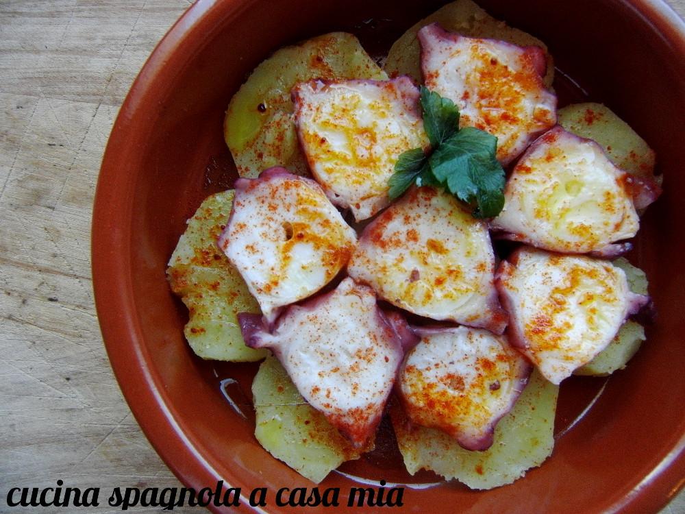 Ricerca ricette con polpo alla galiziana for Cucina spagnola