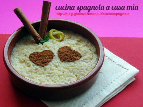 RISO CON LATTE, ARROZ CON LECHE | Cucina Spagnola