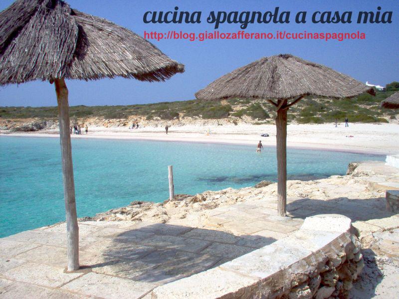 MINORCA SPIAGGIA DI BINIBECA   Cucina Spagnola A Casa Mia