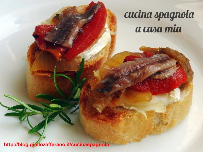 Très ESCALIVADA, TAPA SU PANE | Ricette Cucina Spagnola A Casa Mia IB38