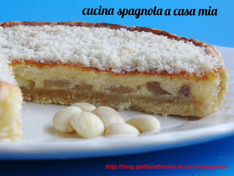 Très TORTA DI FRUTTA CON FORMAGGIO DI CAPRA | Cucina Spagnola A Casa Mia TU04